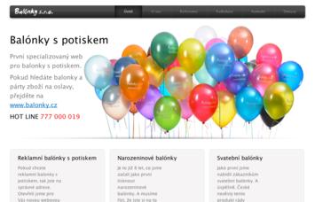 www.balonky-s-potiskem.cz