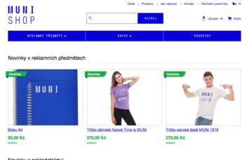 MUNISHOP – e-shop Masarykovy univerzity