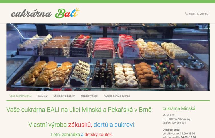 Cukrárna Bali