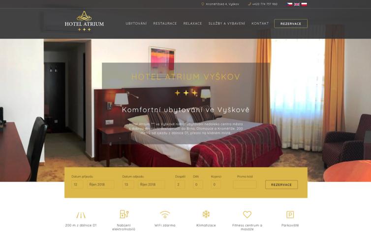 Hotel Atrium Vyškov