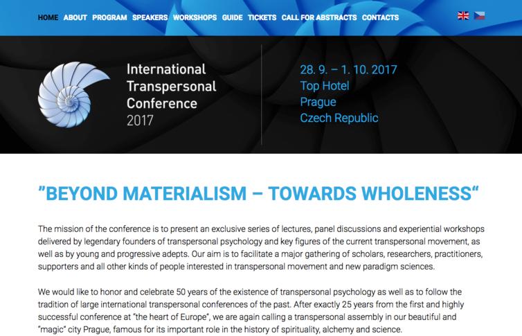 Mezinárodní transpersonální konference 2017