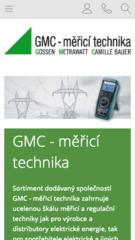 GMC – měřicí technika