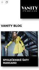 VANITY fashion